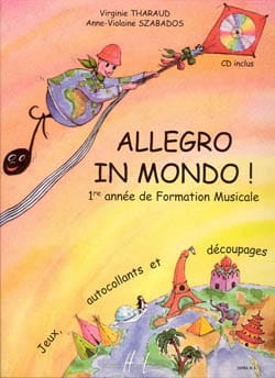 Virgine THARAUD et Anne-Violaine SZABADOS - Allegro in mondo - Sheet Music - di-arezzo.co.uk