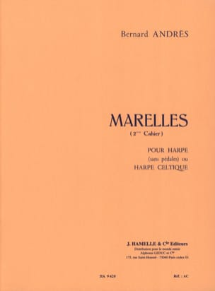 Bernard Andrès - Marelles - 2nd Booklet - Sheet Music - di-arezzo.co.uk