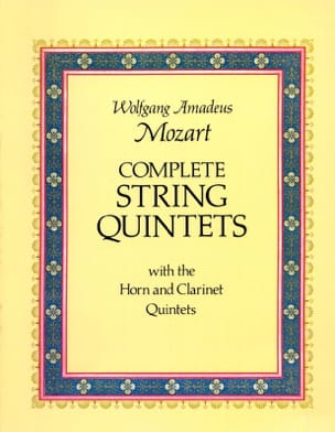 MOZART - Complete String Quintets - Sheet Music - di-arezzo.co.uk
