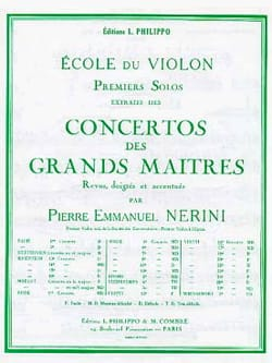 Giovanni Battista Viotti - 1st Solo of the Concerto n ° 14 (Nerini) - Sheet Music - di-arezzo.co.uk
