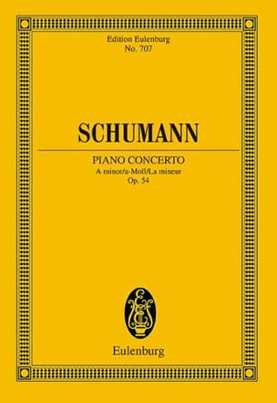 Robert Schumann - Klavier-Konzert a-moll - Partition - di-arezzo.fr