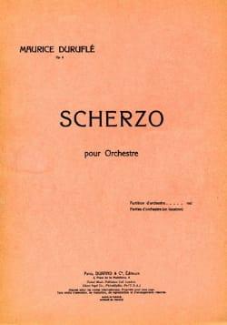 Andante et Scherzo Op. 8 2. Scherzo - Conducteur - laflutedepan.com