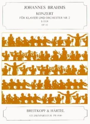 Johannes Brahms - Klavierkonzert Nr 2 B-Dur, Opus 83 - Partition - di-arezzo.fr