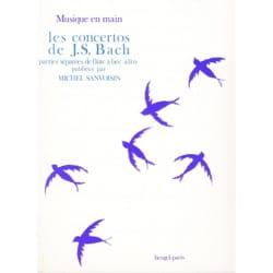 Les Concertos de J. S. Bach - Flûte à bec alto BACH laflutedepan