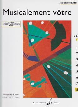 Jean-Clément Jollet - Musicalement Vôtre Volume 8 - Prof - Partition - di-arezzo.fr