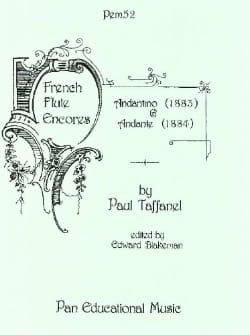 Paul Taffanel - Andantino 1883 and Andante 1884 - Flute - Partition - di-arezzo.co.uk