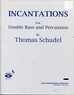Incantations - Thomas Schudel - Partition - laflutedepan.com