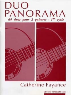 Duo Panorama Catherine Fayance Partition Guitare - laflutedepan