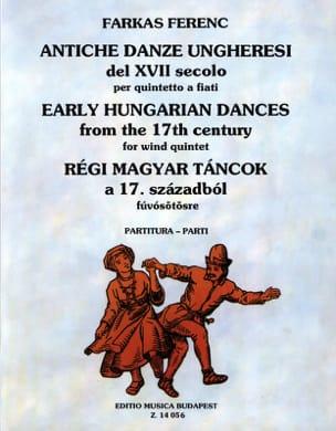 Ferenc Farkas - Antiche Danze Ungheresi Del 17. Secolo - quintetto a Fiati - Sheet Music - di-arezzo.com