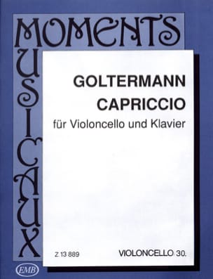 Georg Goltermann - caprice - Sheet Music - di-arezzo.co.uk