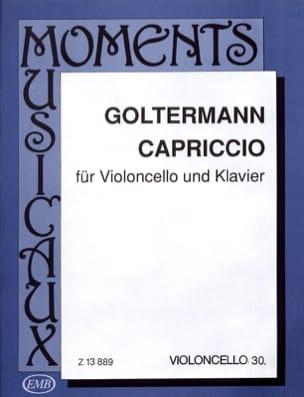 Capriccio Georg Goltermann Partition Violoncelle - laflutedepan