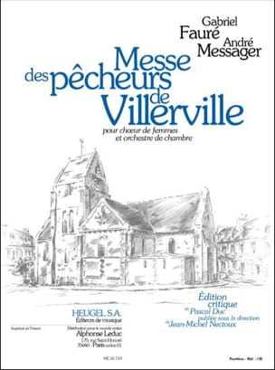 Fauré Gabriel / Messager André - Villerville Fishermen's Mass - Driver - Sheet Music - di-arezzo.co.uk