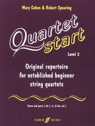 Cohen Mary / Spearing Robert - Quartet Start, Level 2 – String quartet - Partition - di-arezzo.fr