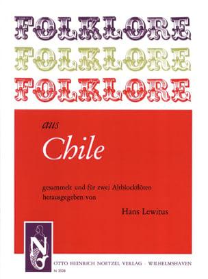 Folklore aus Chile - 2 Altblockflöten - laflutedepan.com
