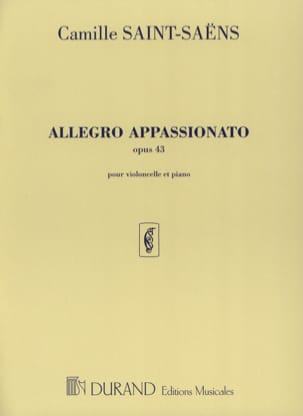 Camille Saint-Saëns - Allegro Appassionato op. 43 - Sheet Music - di-arezzo.co.uk