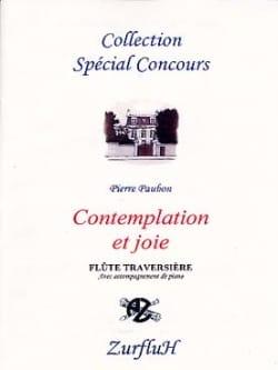 Pierre Paubon - Contemplation et Joie - Partition - di-arezzo.fr