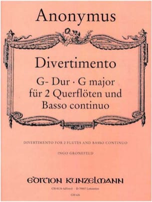 - Divertimento G Dur - 2 Flöten und BC - Sheet Music - di-arezzo.co.uk