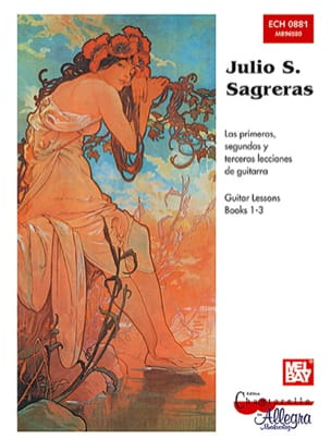 Julio S. Sagreras - Guitar Lessons - Books 1-3 - Sheet Music - di-arezzo.com