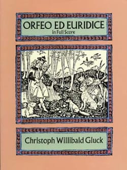 Orfeo & Euridice - Full Score GLUCK Partition laflutedepan