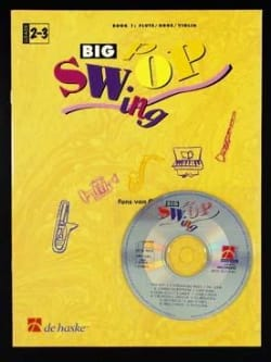 Fons van Gorp - Big Swing Pop - Book 1 - Flute/Oboe/Violin - Partition - di-arezzo.fr