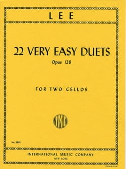Sebastian Lee - 22 Very Easy Duets Op. 126 - Partition - di-arezzo.fr