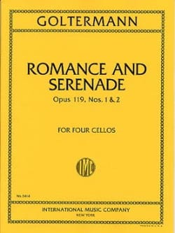 Georg Goltermann - Romance and Serenade op. 119 n ° 1 and 2 - Sheet Music - di-arezzo.co.uk