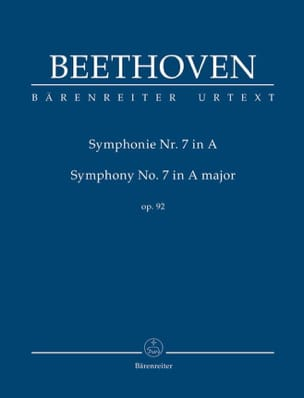 BEETHOVEN - Symphony No. 7 - Conductor - Partition - di-arezzo.com