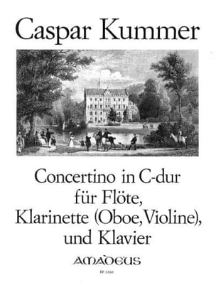 Gaspard Kummer - Concertino en Do Majeur Opus 101 - Partition - di-arezzo.fr