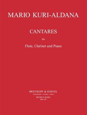 Mario Kuri-Aldana - Cantares - Partition - di-arezzo.fr