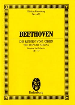 The Ruins Of Athens - Ouverture - Op. 113 - laflutedepan.com