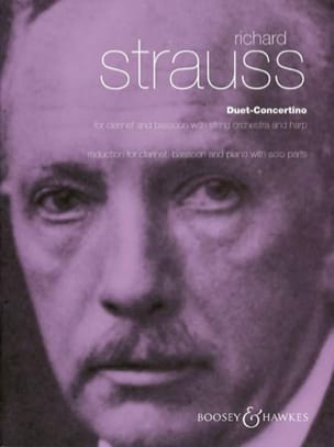 Richard Strauss - Duet-Concertino - Partition - di-arezzo.fr