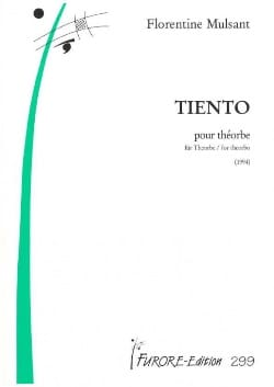 Florentine Mulsant - Tiento Pour Théorbe - Partition - di-arezzo.fr