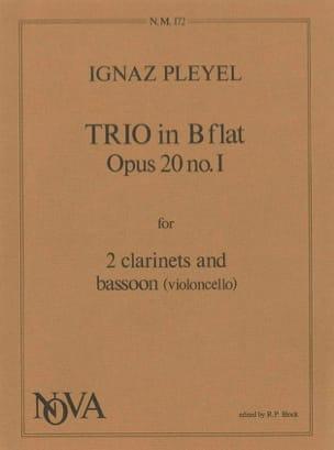 Trio in Bflat op. 20 n° 1 -2 clarinets bassoon - laflutedepan.com