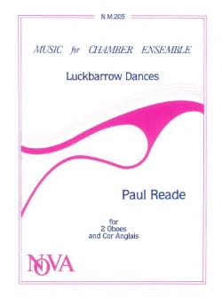 Paul Reade - Luckbarrow Dances - 2 Oboes english horn - Sheet Music - di-arezzo.com