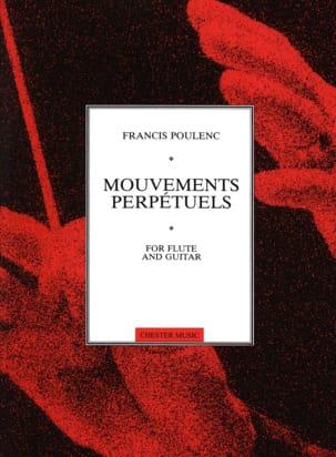 Francis Poulenc - Mouvements perpétuels -Flûte guitare - Partition - di-arezzo.fr
