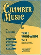 - Chamber Music for 3 Woodwinds Vol 1 - Partition - di-arezzo.fr