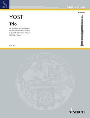 Michel Yost - Trio In F Maj. - Sheet Music - di-arezzo.com