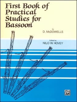 D. McDowells - First Book of Practical Studies for Bassoon - Sheet Music - di-arezzo.com