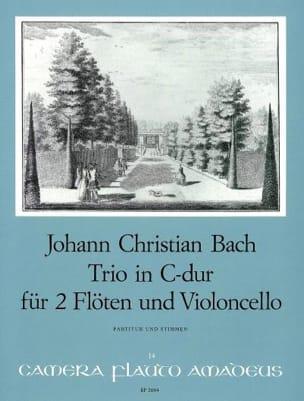 Johann Christian Bach - Trio C-Dur –2 Flöten Violoncello - Partitur + Stimmen - Partition - di-arezzo.fr