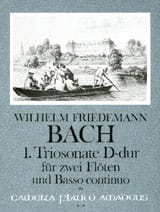 Triosonate Nr. 1 D-Dur -2 Flöten Bc - laflutedepan.com