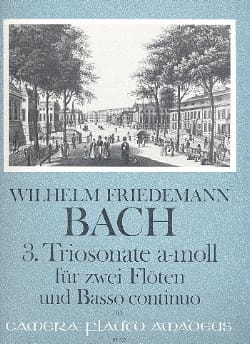 Triosonate Nr. 3 a-moll –2 Flöten Bc - laflutedepan.com