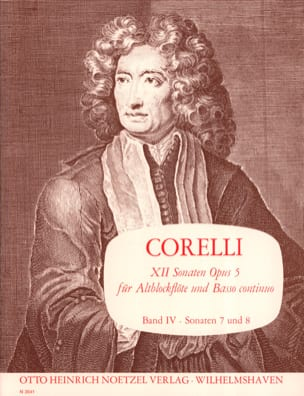 12 Sonaten op. 5 - Bd. 4 - Altblockflöte u. Bc CORELLI laflutedepan