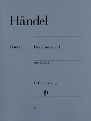 Sonates pour flûte, volume 1 HAENDEL Partition laflutedepan