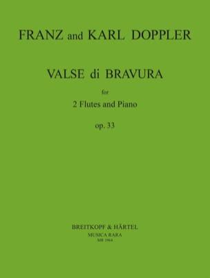 Doppler Franz / Doppler Karl - Valse di Bravura op. 33 - 2 Flöten Klavier - Sheet Music - di-arezzo.com