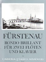 Anton Bernhard Fürstenau - Rondo Brillant Opus 102 - Partition - di-arezzo.fr