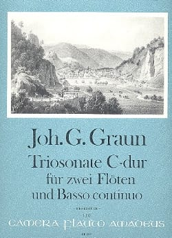 Johann Gottlieb Graun - Triosonate C-Dur -2 Flöten U. Bc - Partition - di-arezzo.fr