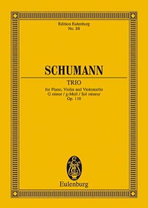Robert Schumann - Klavier-Trio G-Moll Op. 110 - Partition - di-arezzo.fr
