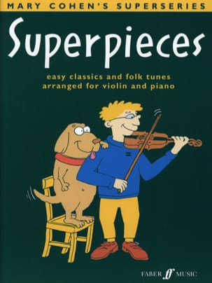 Superpieces Mary Cohen Partition Violon - laflutedepan