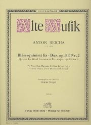 Bläserquintett op. 88 Nr. 2 Es-Dur -Stimmen - laflutedepan.com