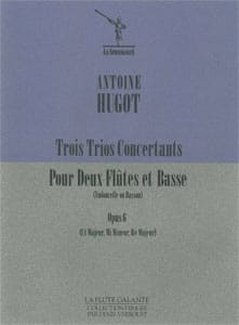 3 Trios concertants op. 6 - 2 flûtes et basse - laflutedepan.com